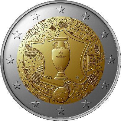 Francia 2016 2 Euros - Eurocopa