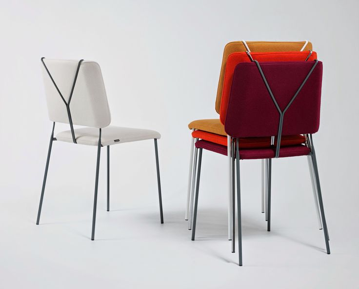 the look of trouser braces fashionably define färg & blanche's frankie chair