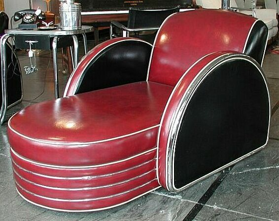 Deco-Dence Art Deco - Seating - Custom 2 - Art Deco club chairs, bars, dining, bedroom, desks