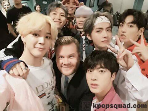 Penampilan BTS dan Fanchant Fans di 'Late Late Show' Buat Non Fans dan Staff Kagum
