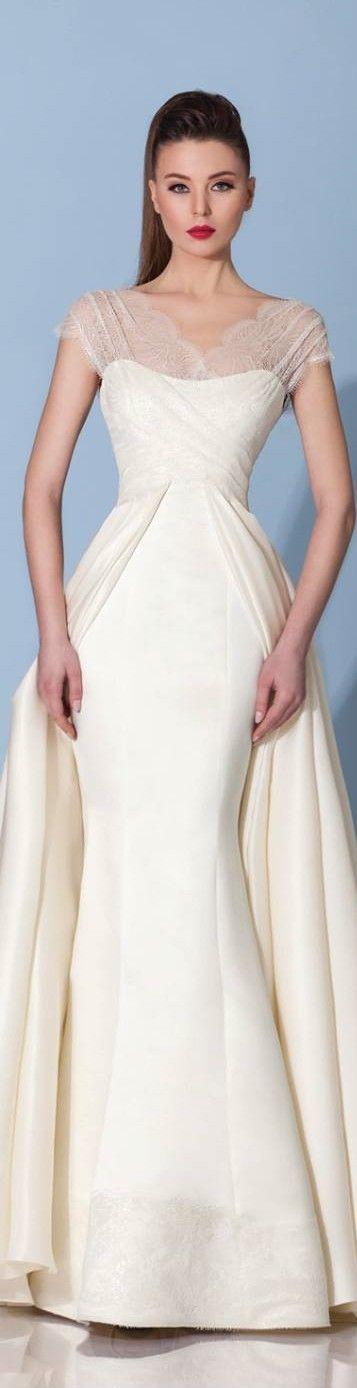 Best 90 wedding dresses ideas on pinterest wedding bridesmaid mireille dagher fw 2016 code gets off at fandeluxe Gallery