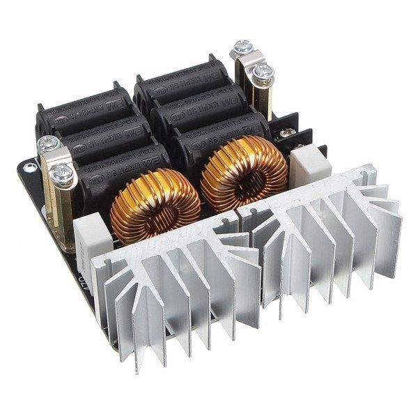 Módulo de máquina de aquecimento por indução de alta frequência 20a 1000w baixos ZVS 12-48v