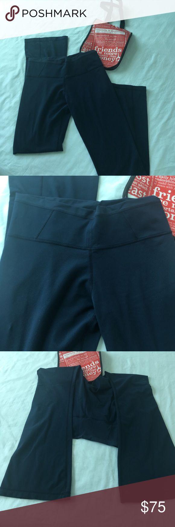 Lulu Bootcut Leggings Super comfortable, worn once. Bootcut. So flattering! lululemon athletica Pants Leggings