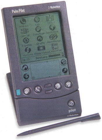 Do you remember the year the Palm Pilot was cutting edge at Great Ideas? 2003 or 2005?