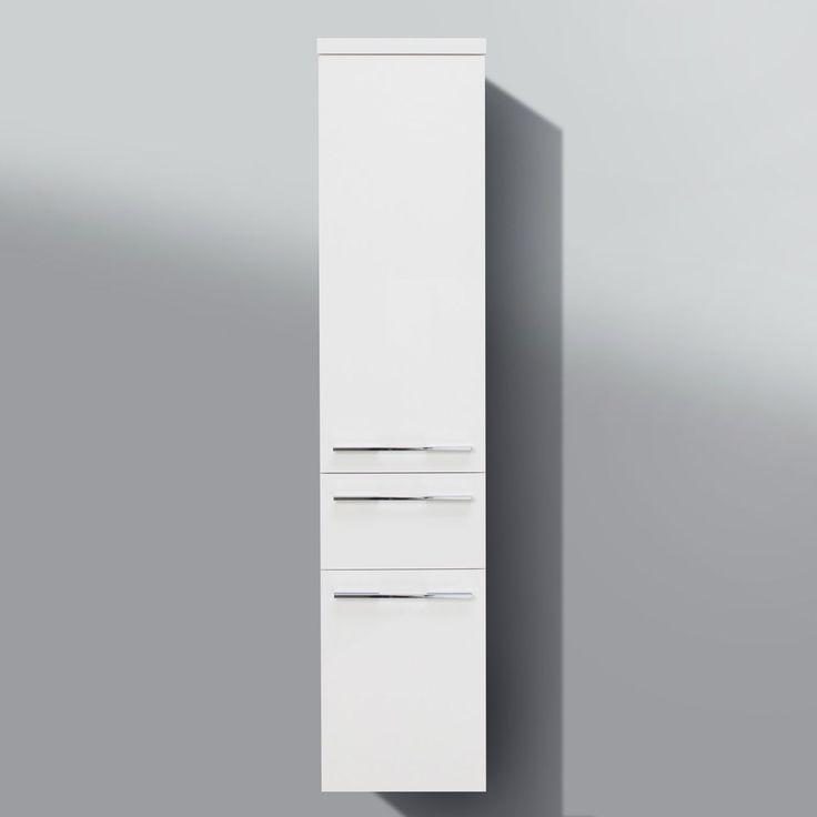 Bad Hochschrank Badmöbel Maße: H/B/T 155/35/33 cm komplett vormontiert Jetzt bestellen unter: https://moebel.ladendirekt.de/bad/badmoebel/badezimmerschraenke/?uid=a4ae0363-9c6c-512d-b24c-b38b32bafeb8&utm_source=pinterest&utm_medium=pin&utm_campaign=boards #bad #badmoebel #badezimmerschraenke