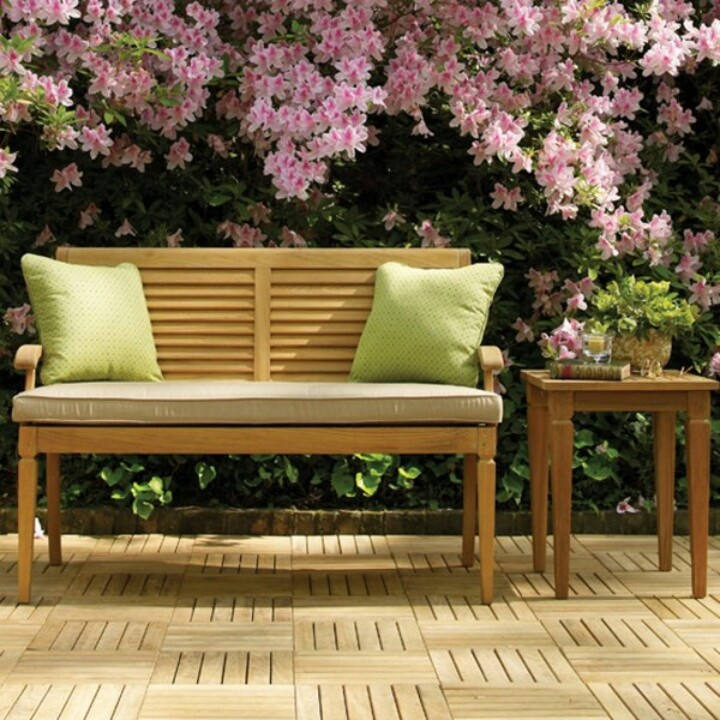 106 best Bancas images on Pinterest Woodworking, Home ideas and - jardines con bancas