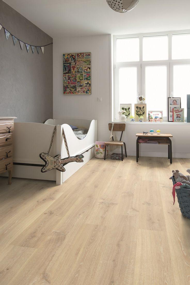 "Quick-Step Creo ""Tennessee oak light wood "" (CR3179) Laminate flooring - www.quick-step.com"