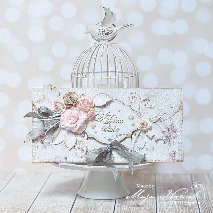 CraftHobby Oliwiaen: Faux Envelope Card / Kartka-kopertówka