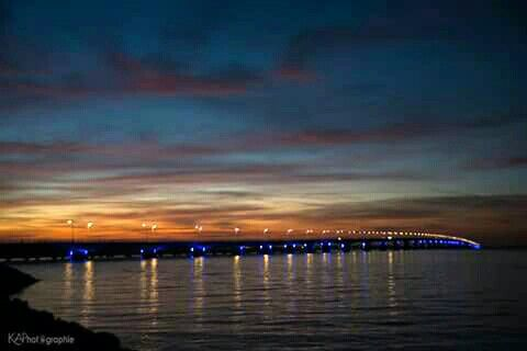 Pont de l'île d'Oléron, 6h53
