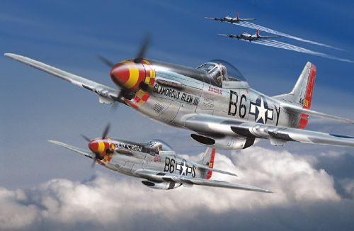 P-51 Mustang - Segunda Guerra