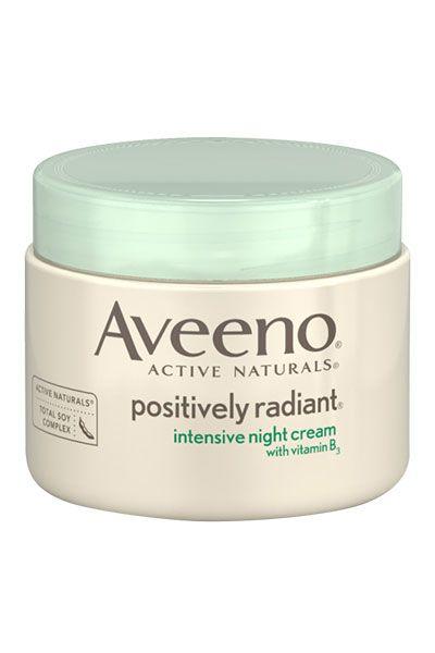 10 Best Moisturizers Under $30 Aveeno Positively Radiant Intensive Night Cream, $15