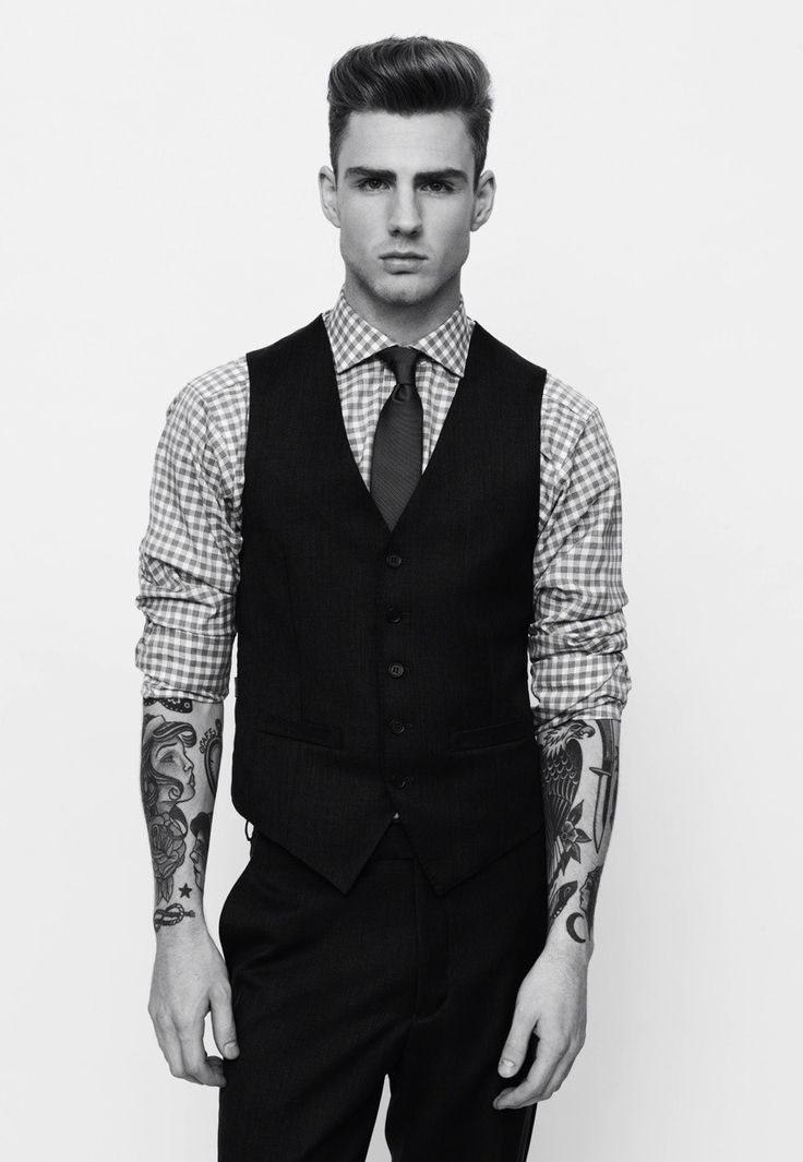 Tattoos....great look....very few can pull it off with an astonishing sophistication