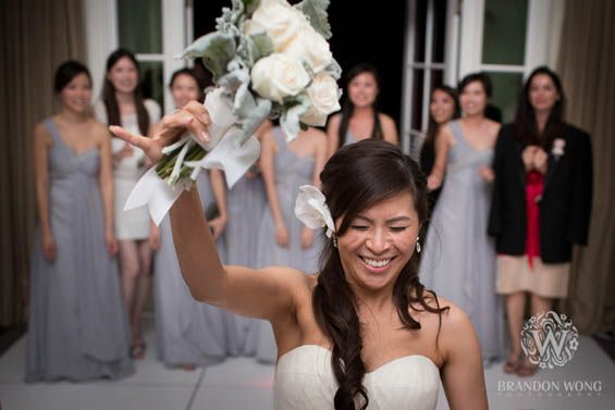 Love this bouquet toss picture