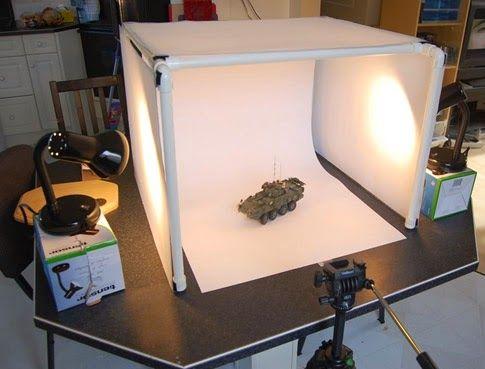 Estudio de fotografia casero económico   Tutorial fotografía. Caja de luz