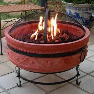 17 Best images about Terra Cotta Fire Pits on Pinterest | Tree rings, Cheap gravel and Weber grill