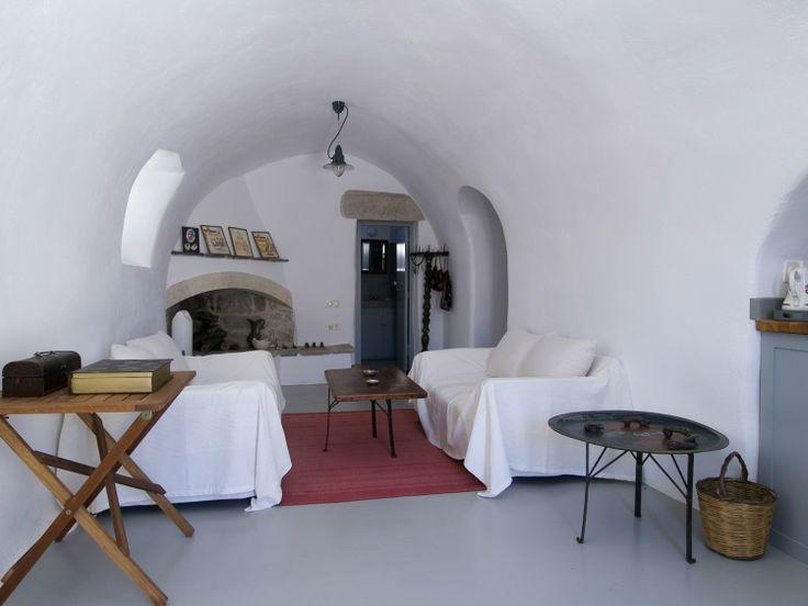 Living Room II at Villa Ariadni in Kithyra; http://instylevillas.net/property/ariadni-villla-kythira/