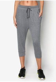 Sport Harem 3/4 Pants from ZALORA SPORT in grey_1