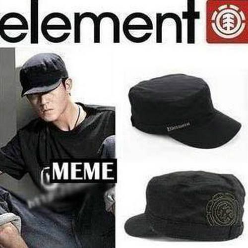 Element Military Black Or Olive STYLE FLAT CAP HAT #CadetMilitary