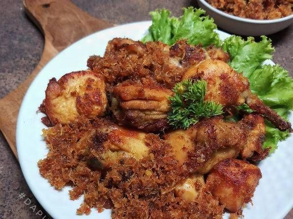 Resep Ayam Goreng Serundeng Pedas Oleh Dapurvy Resep Resep Ayam Resep Memasak
