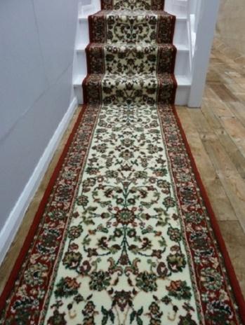 Persian - Cream - Traditional - Carpet Runners UK
