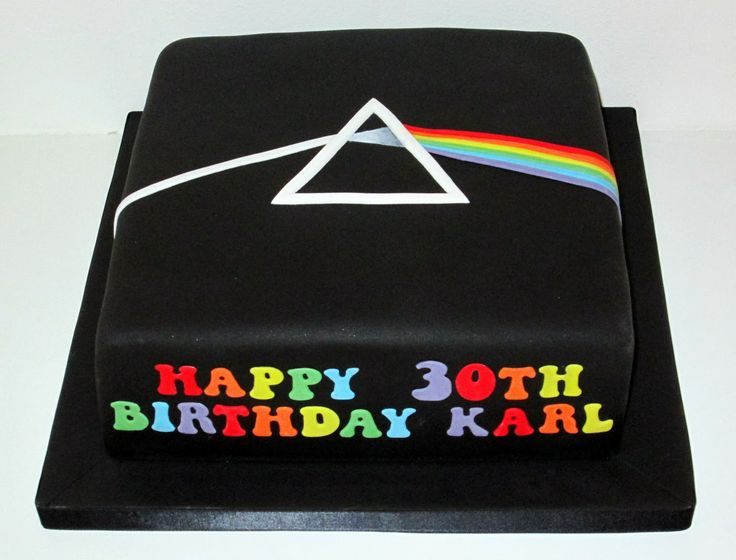 Pink Floyd Cake Images : Pink Floyd Cake by The Coloured Bubble Cakery Bands ...