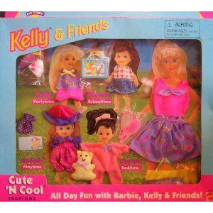 Barbie - KELLY Cute 'N Cool Fashions All Day Fun With Barbie, Kelly & Friends (1996)