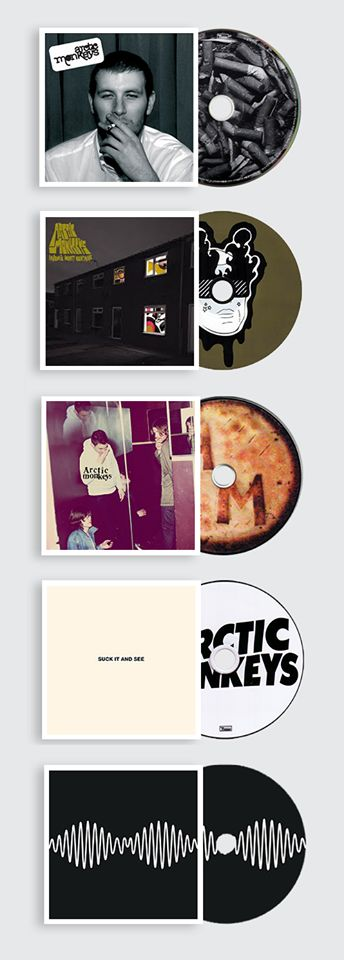 Arctic Monkeys albums... My favourite has to be Whatever People Say I Am, That's What I'm Not.