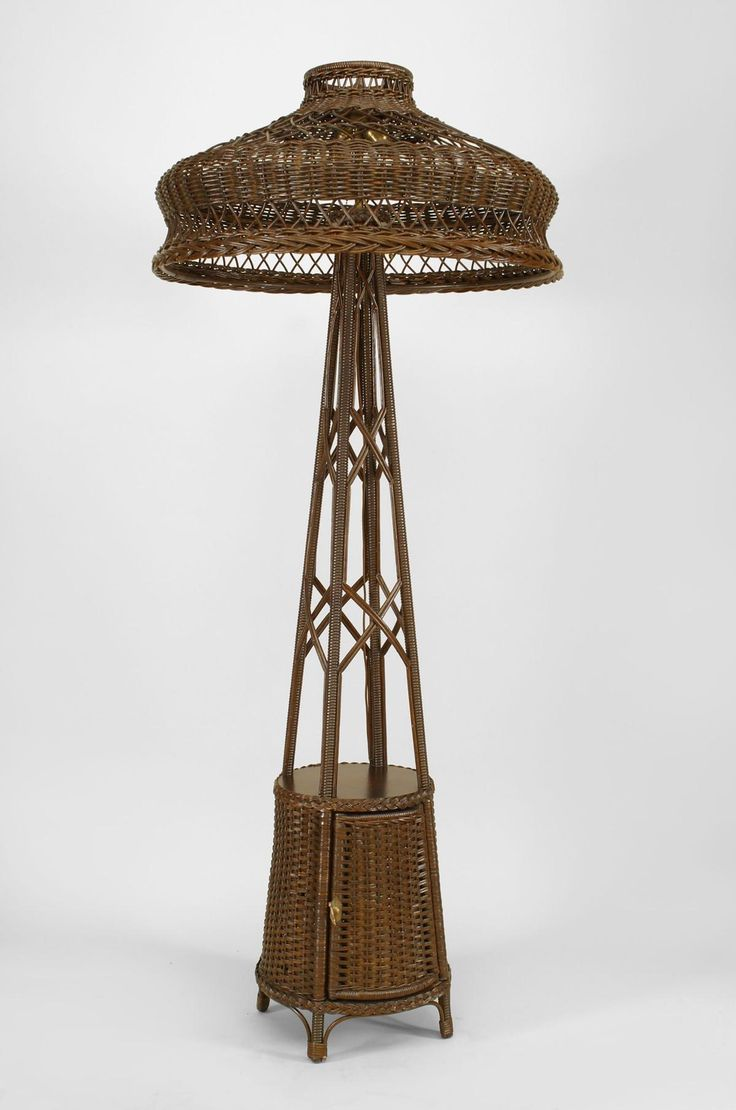139 best images about victorian wicker on pinterest for White victorian floor lamp