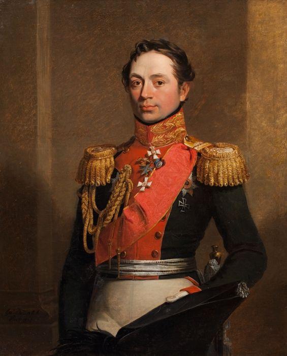 Портрет барона Г. В. Розена. Дж. Доу (?). 1820-е гг.
