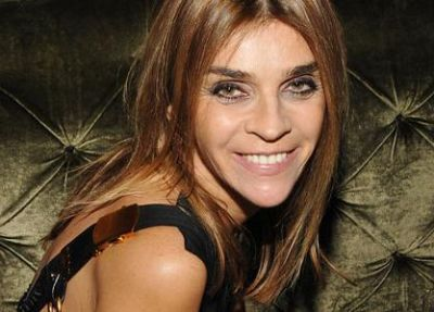 Carine Roitfeld, numita director de moda la nivel international al revistei Harper's Bazaar