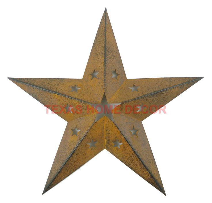 21 best images about metal barn stars on pinterest for Texas decorations for the home