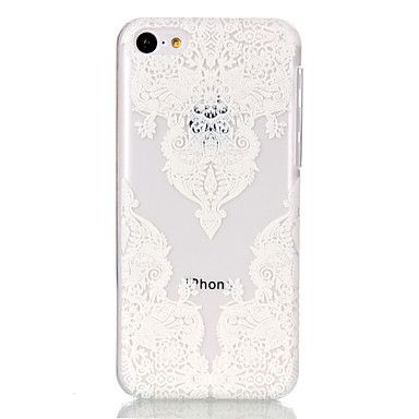 holle bloempatroon ultradunne harde Cover Case voor iPhone 5c – EUR € 2.39