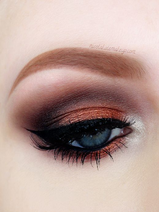 Copper Smokey Eyes Early Fall Makeup Look: Best 25+ Renaissance Makeup Ideas On Pinterest