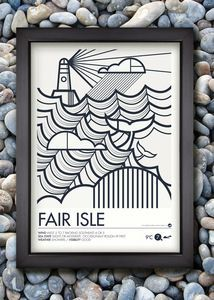Shipping Forecast Prints - Fair Isle