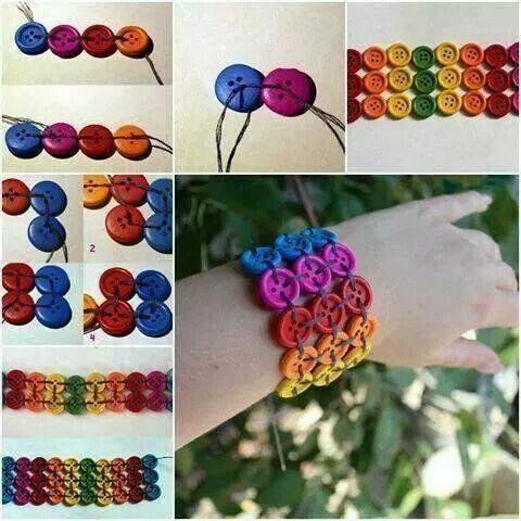 Bracelet boutons... ...