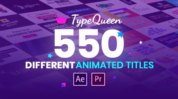 Typequeen Animated Title And Kinetic Text Videohive In 2020