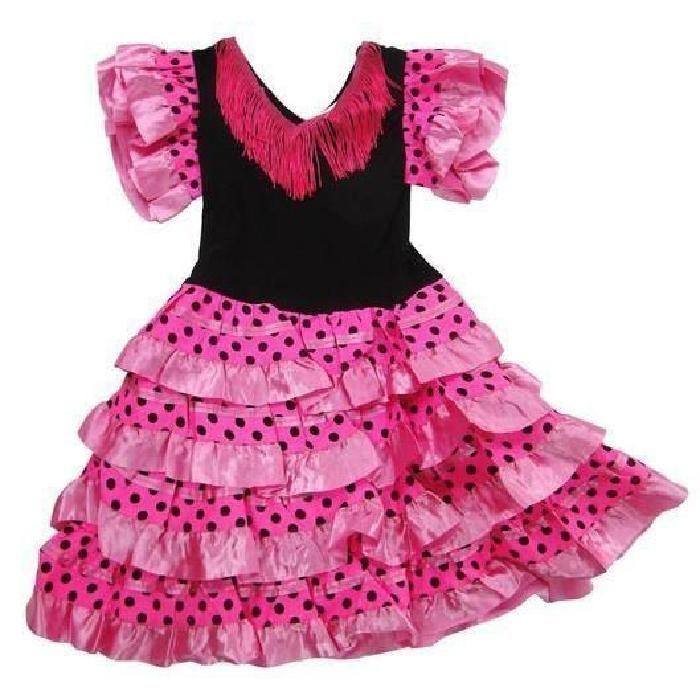 Robe flamenco fille pas cher