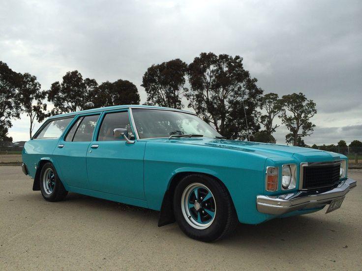 1975 HJ Holden Station Wagon V8 350 Chev