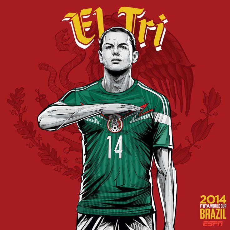 Mexico Soccer Chicharito Wallpaper