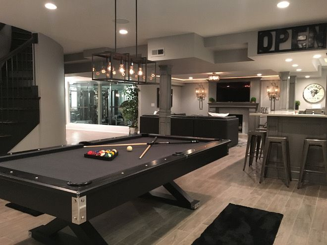 Game Room Bar Ideas Gorgeous Best 25 Game Room Basement Ideas On Pinterest  Basement Design Inspiration