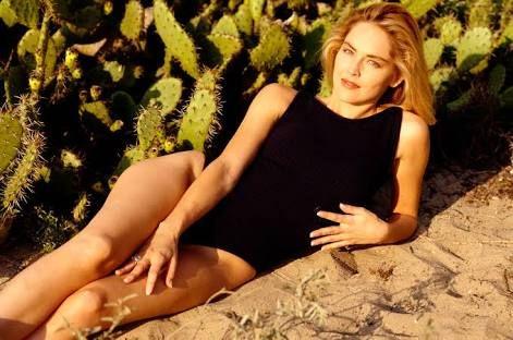 I see your '96 Salma Hayek and raise you '91 Sharon Stone