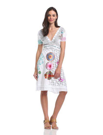 desigual flechazo robe t femme v tements et accessoires mode pinterest. Black Bedroom Furniture Sets. Home Design Ideas