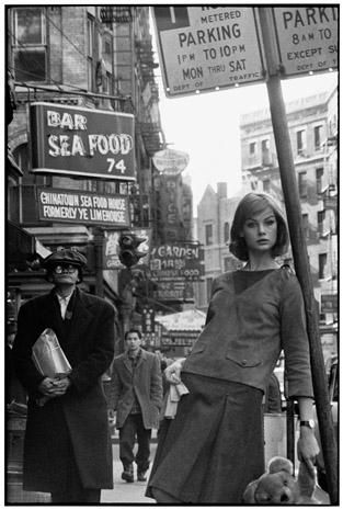 Jean Shrimpton NYC , David Bailey 1962