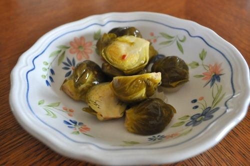 Lacto-fermented Brussels Sprouts Recipe