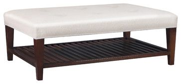 Stickley Bethpage Cocktail Ottoman 7642 - transitional - Ottomans And Cubes - New York - Stickley Furniture