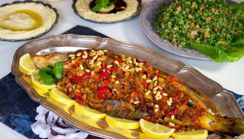 Samke harra- Libanesisk chilifisk