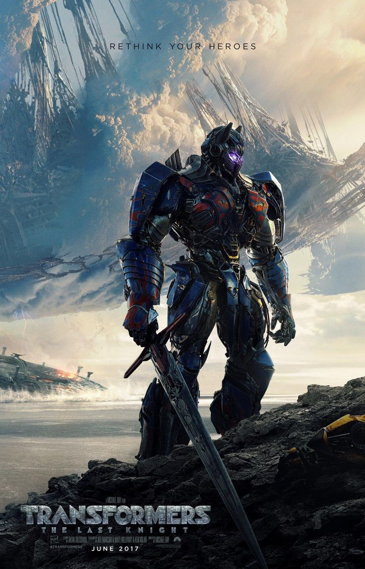 Transformers: O Último Cavaleiro - Liberado o primeiro pôster oficial do filme! - Legião dos Heróis