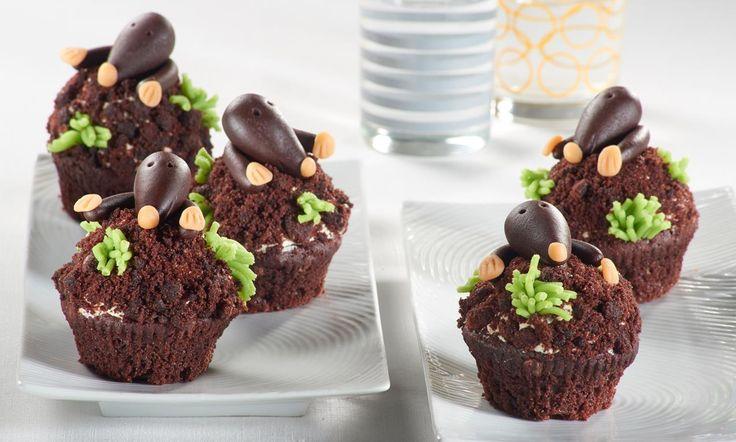 Manni-Maulwurf-Muffins Rezept | Dr. Oetker