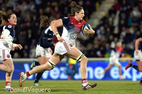 Tournoi des VI nations féminin : La France cartonne face à l'Écosse 55/0 - Bordeaux Gazette - 13/02/2017