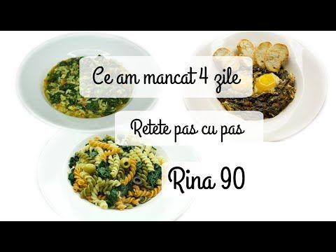 Ep 6 /Ce mananc in 4 zile de Rina/ Retete dieta Rina 90 / Dieta Rina/ Wh...